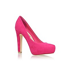 Miss KG - Pink 'Annie' high heel court shoe