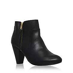 Carvela - Black 'Tiffany' high heel ankle boot