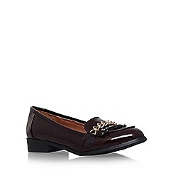 Miss KG - Wine 'Miller' flat slip on loafer