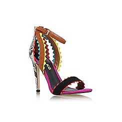 Miss KG - Mult/other 'Fanfare' high heel strappy sandal