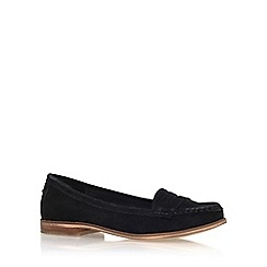 Miss KG - Black 'Mallori' flat slip on loafer