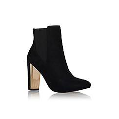 Miss KG - Black 'josephine' high heel ankle boot