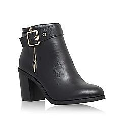 Miss KG - Black 'Jannelle' mid block heel ankle boot