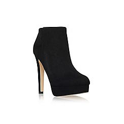 Carvela - Black 'Tamara' high heel platform ankle boot