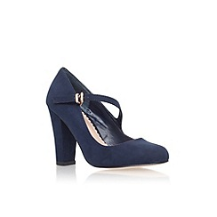 Carvela - Navy 'Karol' high heel court shoe