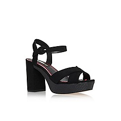 Miss KG - Black 'Gwen' high heel sandal