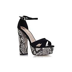 Miss KG - Black 'Fizz' high heel sandal