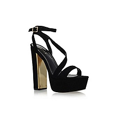 Lipsy - Black 'Billie' high heel platform sandal
