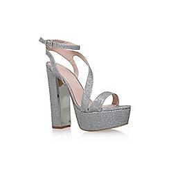 Lipsy - Silver 'Billie' high heel platform sandal