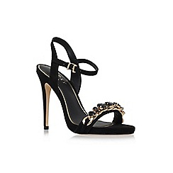 Lipsy - Black 'Betsey' high heel chain detail sandal