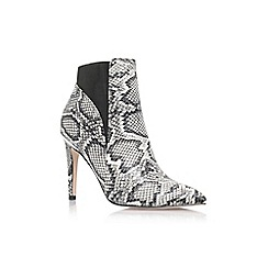 Lipsy - Grey 'bailey' high heel ankle boot