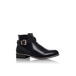 Lipsy - Black 'bianca' low heel buckle detail ankle boot