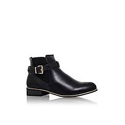 Lipsy - Black 'bianca' low heel buckle detail ankle boot