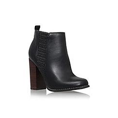 Miss KG - Black 'Scorpio' high block heel ankle boot