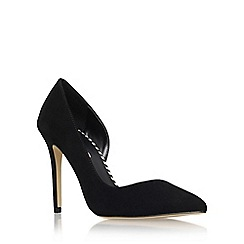 Miss KG - Black 'Abbie' high heel court shoe
