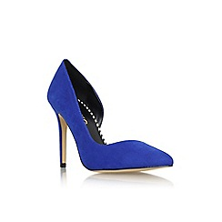 Miss KG - Blue 'Abbie' high heel court shoe