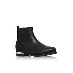 Carvela - Black 'Tristan' low heel ankle boot