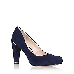Carvela - Blue 'advice' high heel court shoe
