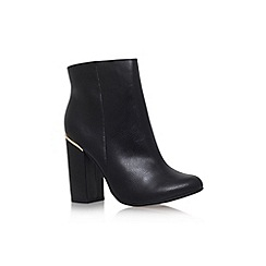 Carvela - Black 'Tula' mid block heel ankle boot
