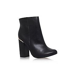 Carvela - Black 'Tula' mid block heel ankle boot