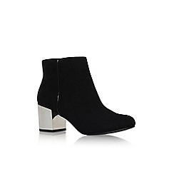 Carvela - Black 'Tink' mid block heel ankle boot
