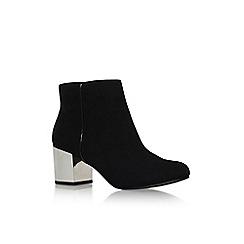 Carvela - Black 'Tink' mid block heel ankle boot