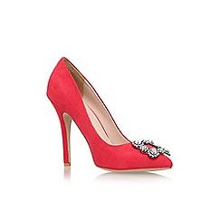 Carvela - Fushia 'Lotty' high heel embellished court shoe