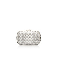 Carvela - Silver 'Deonne' clutch bag