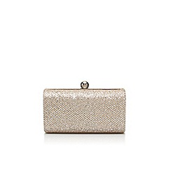 Carvela - Silver 'Denise' clutch bag