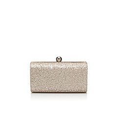 Carvela - Silver 'Denise' clutch bag