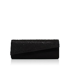 Carvela - Black 'Dazzle' clutch bag