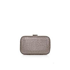 Carvela - Gold 'Darcey' clutch bag with shoulder chain