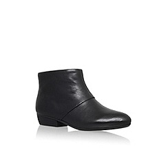 Nine West - Black 'Ezout' flat ankle boot