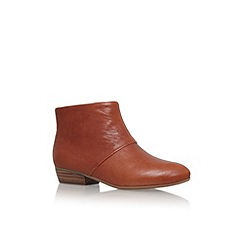 Nine West - Brown 'Ezout' flat ankle boot