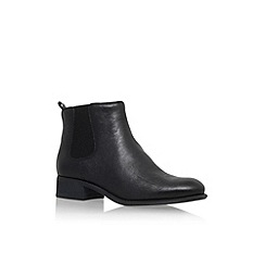 Nine West - Black 'Jara' flat ankle boot