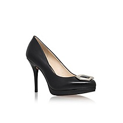Nine West - Black 'Keemah' high heel court shoe