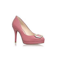 Nine West - Pale pink 'Keemah' high heel court shoe