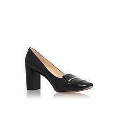 Nine West - Black 'Newgyrl' mid heel court shoe