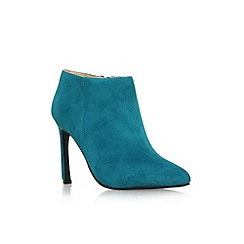 Nine West - Teal 'Sheelah' high heel ankle shoe boot