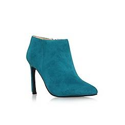 Nine West - Teal 'Sheelah' high heel ankle shoe boot