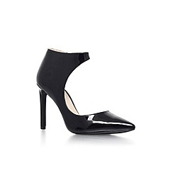 Nine West - Black 'Teecup3' high heel court shoe