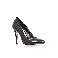 Carvela - Black 'Kassandra' high heel court shoe