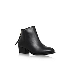 Carvela - Black 'Trooper' low block heel ankle boot
