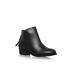 Carvela - Black 'Trooper' low block heel ankle boot