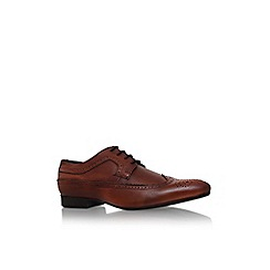 KG Kurt Geiger - Tan 'aldridge' flat lace up formal shoe
