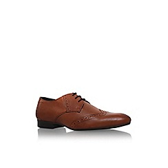 KG Kurt Geiger - Tan 'aylesbury' flat lace up formal shoe
