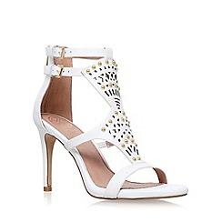 KG Kurt Geiger - White 'Harem' high heel sandal