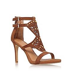 KG Kurt Geiger - Tan 'Harem' high heel sandal