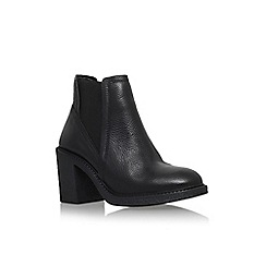 Carvela - Black 'Spark' mid block heel ankle boot