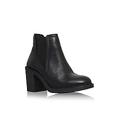 Carvela - Black 'Spark' mid block heel ankle boot